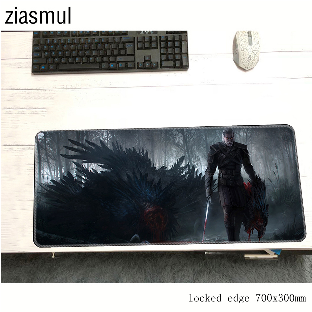 Geralt Padmouse Natural Rubber 70x30cm Gaming Mousepad Game Mouse Pad Gamer Computer Esports Desk Mat Notbook Mousemat Pc