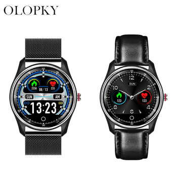 Dual Display Smart Watch Men Waterproof Sports Fitness Heart Rate Blood Pressure Message Push Smartwatch For Android and iOS