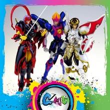 CMT במלאי Dasin דגם צעצועים גדולים Tenkuu Senki Shurato Kuroki גאי גארודה מלך מתכת שריון עם Objec SHF פעולה דמות