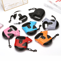 New automatic telescopic nylon dog collar,dog leash,pet collar,belt,traction rope,pet supplies,dog harness