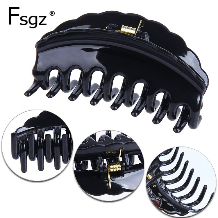 Newest Butterfly Hair Claw For Women Tines Hair Claw Clips Large Crab For Hair Marriage Hairdressing Performance Hair Tools