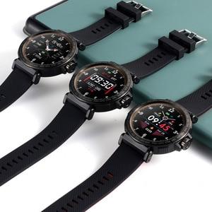 Image 4 - SENBONO S18 spor IP68 su geçirmez akıllı saat ekran dokunmatik erkekler saat nabız monitörü Smartwatch spor izci bilezik