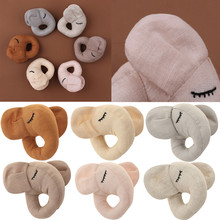 Cartoon Elephant Baby Rattle Plush Stuffed Doll Newborn Hand Bells Mobile Rattle Musical Shaking Toys Kids Early Educational Toy