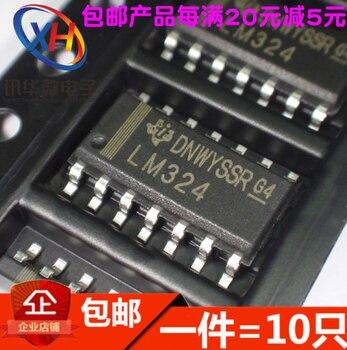 Xinyuanпатч LM324 Рабочий Усилитель четырехсторонний SOP-14 10 шт./лот LM324DR SOP14 SOP SMD LM324DR2G LM324DT Новый и оригинальный IC