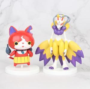 Image 5 - 8pcs/set Yokai Youkai Watch Action Figure Cartoon Toy 8cm PVC Model Doll Kids Gift