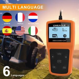 Image 5 - X1 לקרוא/ברור תקלת קוד Reader סריקת כלי OBDII/OBD לקרוא DTC OBD2 רכב אבחון אוטומטי כלי אבחון סורק עבור רכב