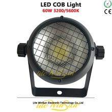 4pcs 60W LED COB Par Mini พื้นผิว 3200K 60 องศา Len Mini COB Blinder ผู้ชม light