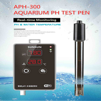 2 in 1 APH-300 Fish Tank PH Water Temperature Test Pen WIFI Remote PH Value  Meter Aquarium Water Quality Temperature Tester