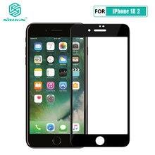 Iphone se 2020 ガラスnillkin xd cp + 最大アンチグレア安全保護強化ガラスiphone se 2 SE2 2020