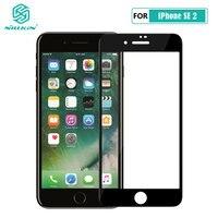 Voor Iphone Se 2020 Glas Nillkin Xd Cp + Max Anti Glare Veiligheid Beschermende Gehard Glas Voor Iphone Se 2 SE2 2020