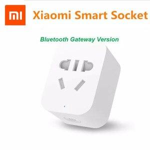 Image 5 - 원래 xiao mi mi jia wifi 버전 스마트 소켓 스마트 홈 스위치 xiao mi 다기능 gateway 웨이와 mi home app