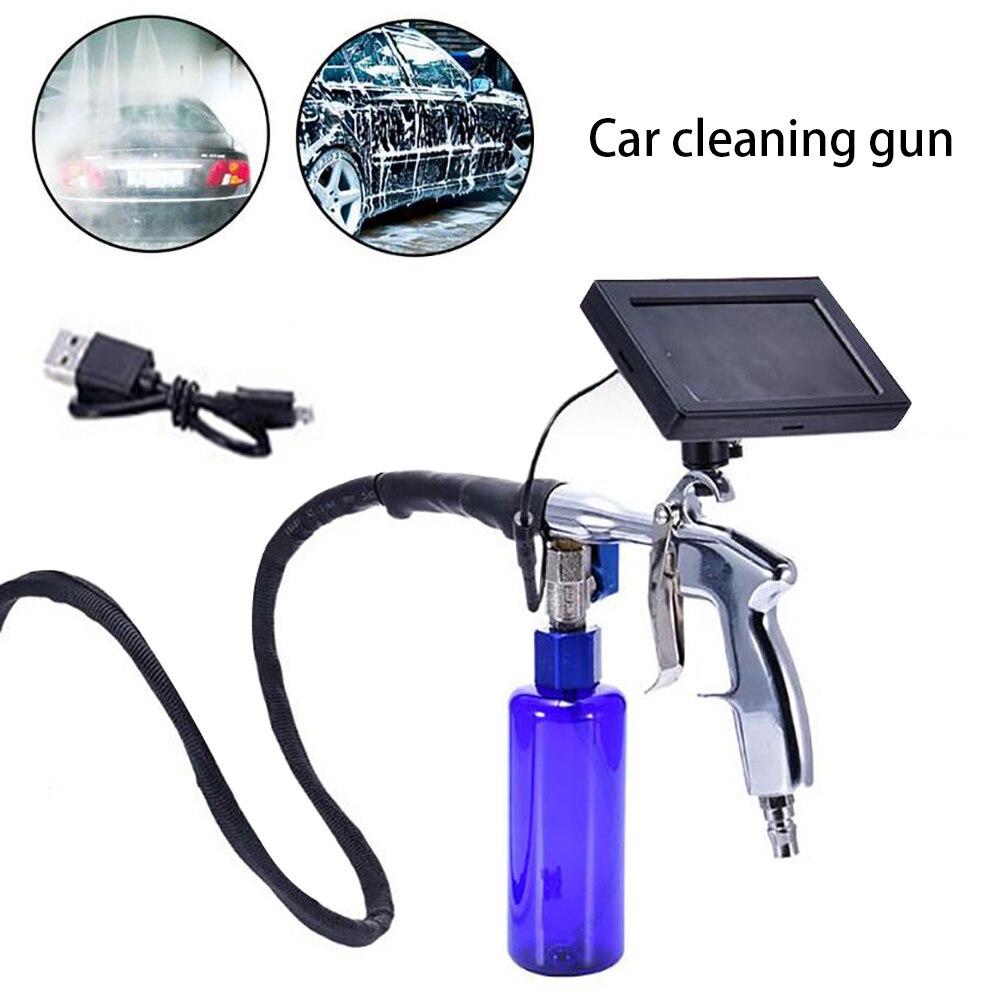 Профессиональный набор для чистки трубка эндоскопа 4,3 дюймов водонепроницаемый инструмент для чистки автомобилей на батарейках кондиционер визуальные инструменты для шайбы - 3