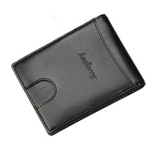 Brand New Men Money Clips Creative Magnetic Buckle Cardholder Multifunctional Coins Bag Business Man Slim Change Purse BLR-K6750()