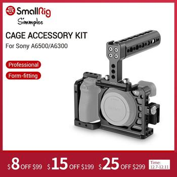 SmallRig Protective Camera Cage a6500 With Top Handle+HDMI Cable Clamp For Sony A6500/A6300 Dslr Rig Set -1968 - discount item  57% OFF Camera & Photo