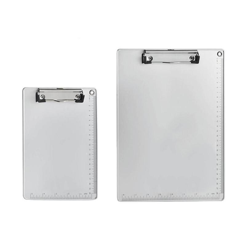Aluminum Alloy Clipboard Writing Board Clip File Folder Document Holder