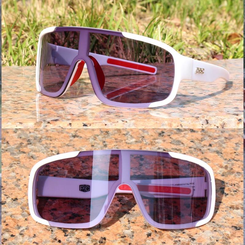 Gafas de sol fotocromáticas para ciclismo para hombre y mujer, lentes POC Aspire para deportes al aire libre, ciclismo de montaña o carretera, 2 lentes