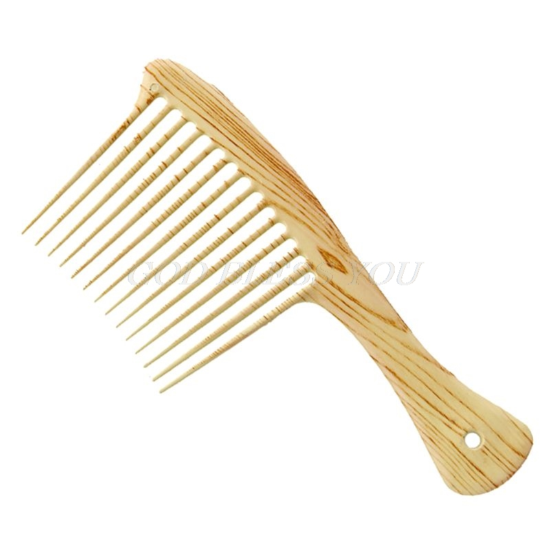 Wide Tooth Comb Massage Beauty Hair Care Salon Hairdressing Styling Tool