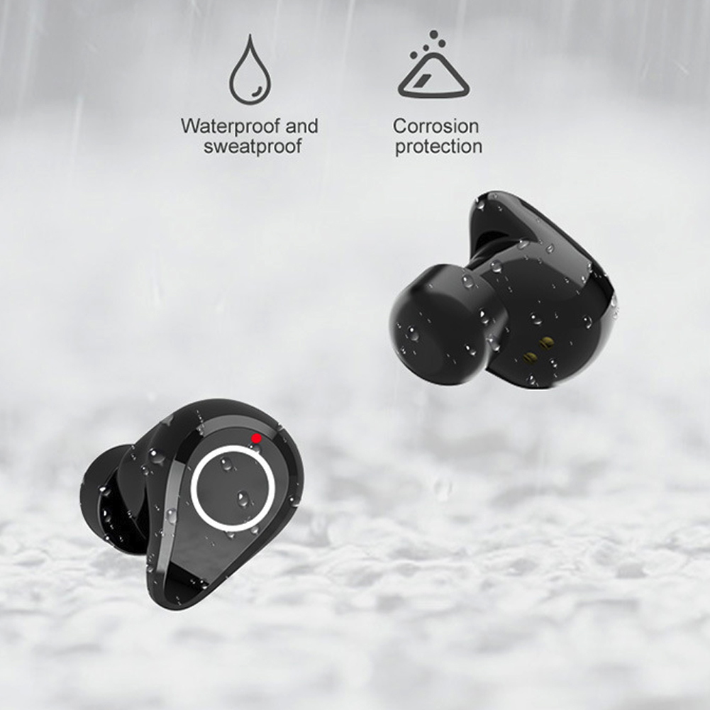 Q5 TWS Mini Bluetooth Earphone 5 0 Binaural Headset 6D Stereo True Wireless Automatic Pairing Gaming Earphones with Charging Box in Bluetooth Earphones Headphones from Consumer Electronics