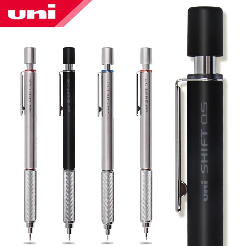 2 Pcs/Lot Mitsubishi Uni M5-1010 Shift Mechanical Pencils 0.3/0.5/0.7/0.9 mm Retractable Tip Low Gravity Center Graphics Design