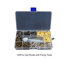 Snap Fasteners Leather Snaps Button Kit Jeans Shoes Press St