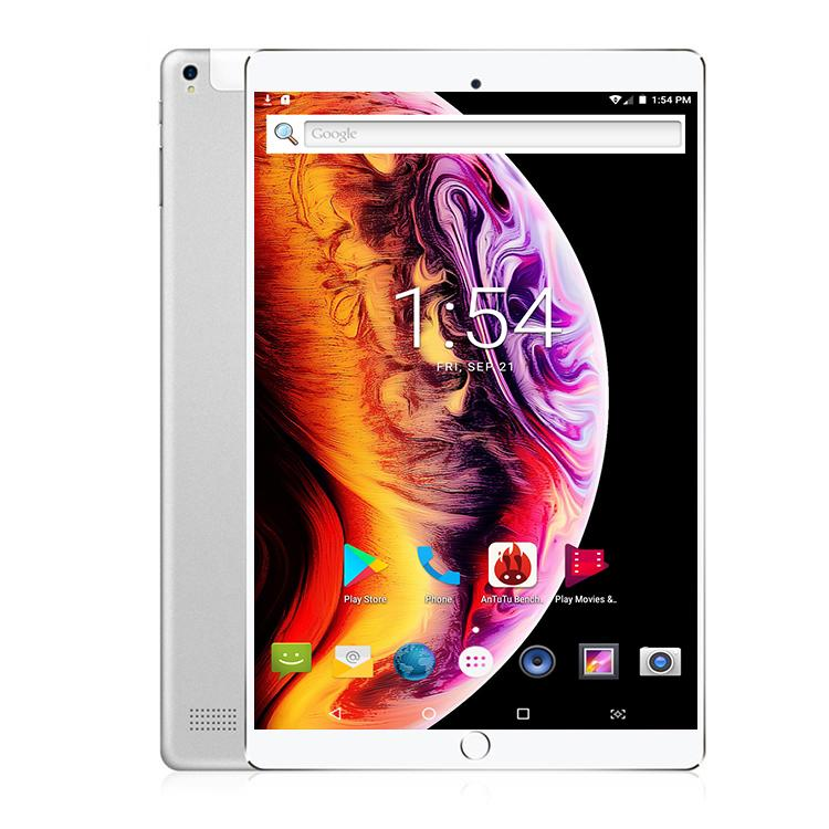 2020 Super Tempered 10 Inch Tablet Pc Octa Core 6GB RAM 128GB ROM 1280*800 IPS Screen GPS Kid Android Tablet Android 8.0