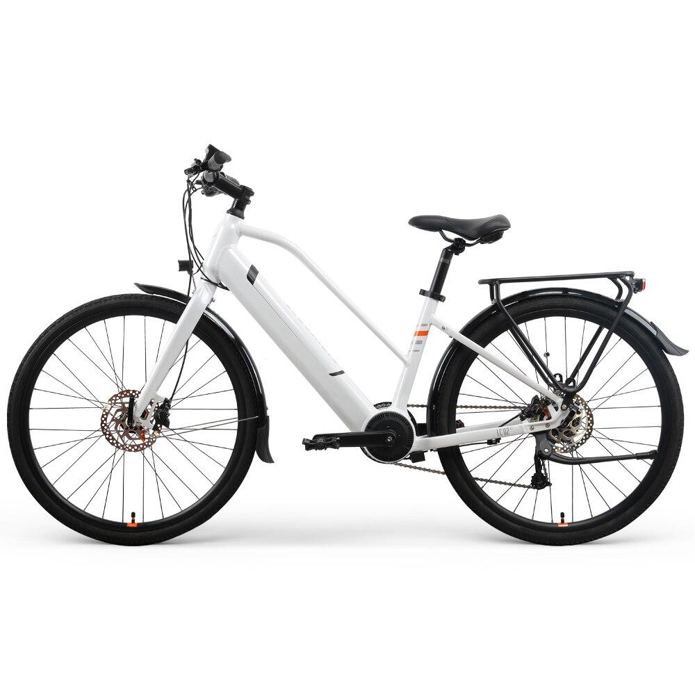 26 polegadas urbano elétrico power-assisted bicicleta 36v mid torque motor inteligente ebike masculino feminino deslocando para viajar bicicleta elétrica