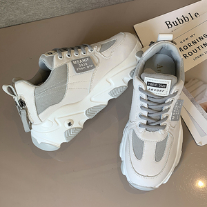 Image 1 - נעלי נשים פלטפורמת דירות חדש מעצב לנשימה רשת נעליים יומיומיות נקבה אופנה מאמני תחרה עד פנאי נשים מגופר