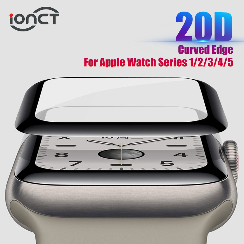 20D HD Protective Glass For Apple Watch Series 3 2 1 42MM 38MM Glass For Apple Watch Glass IWatch 5 4 44MM 40MM Screen protector title=