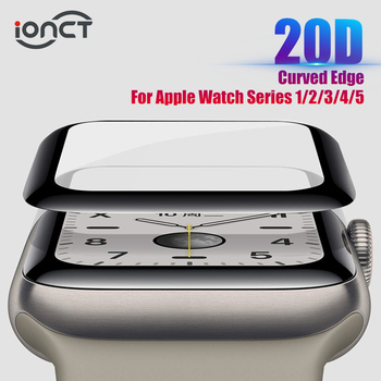 20D HD Protective Glass For Apple Watch Series 3 2 1 42MM 38MM Glass For Apple Watch Glass IWatch 5 4 44MM 40MM Screen protector