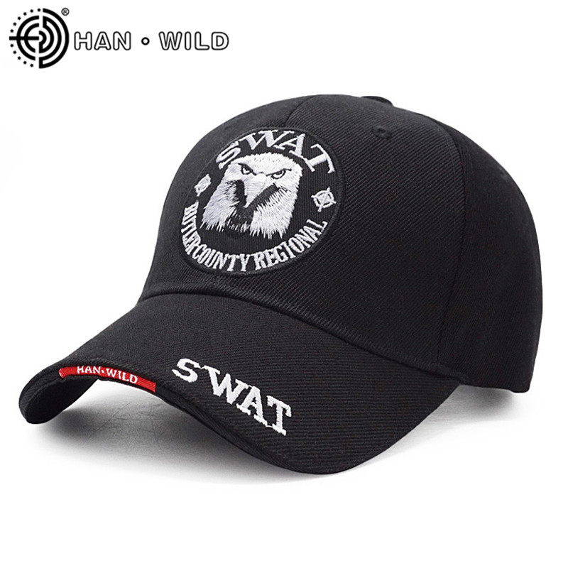 New Brand Men Eagle SWAT Tactical Baseball Cap Army Snapback Hat Cotton Bone Adjustable Male Outdoor US Navy Snapback Cap Gorras