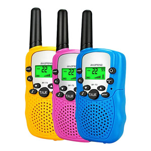 3 pcs Walkie Talkie Kids Walkie-talkies Mini Two-Way Radio Station Children Gift/Family Use/Camping Portable Transceiver toys