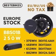 цена на Bafang motor BBS01B 250W 36V bafang 250w bafang BBS01 mid drive motor electric bike motor ebike electric bike conversion kit