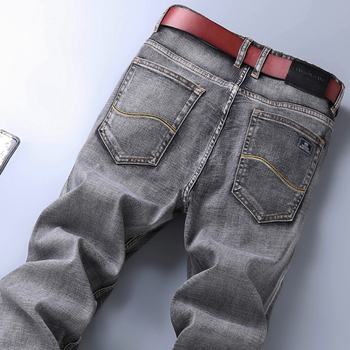 2020 New Men's Stretch Regular Fit Jeans Business   3