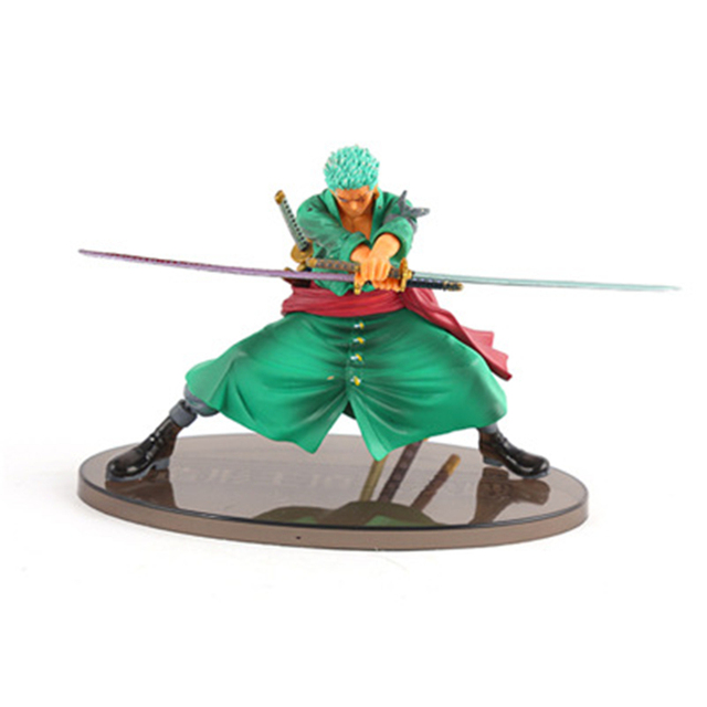 12-18cm Anime One Piece Roronoa Zoro Action Figure Battle Version  Rengoku Onigiri Zoro  PVC Model Doll Toys Decoration