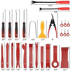 Image 2 - Kit de mantenimiento de embellecedor para automóvil, extractor de panel de reparación de molduras automático, barra de palanca, tablero de radio de coche, herramienta de mano para moldura de puerta, el mejor de 2020