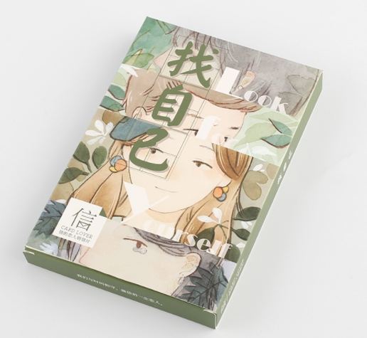 A14- Find Yourself Paper Postcard(1pack=30pieces)