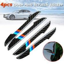 4 Шт Автомобильные полоски на двери и устойчивая к царапинам