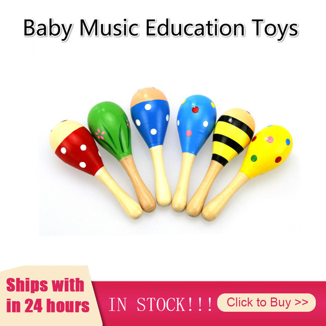 Baby Music Toys Kid Child Sand Hammer Early Education Tool Rattle Musical Instrument Percussion Toy Gifts Random Send Jouet Bebe