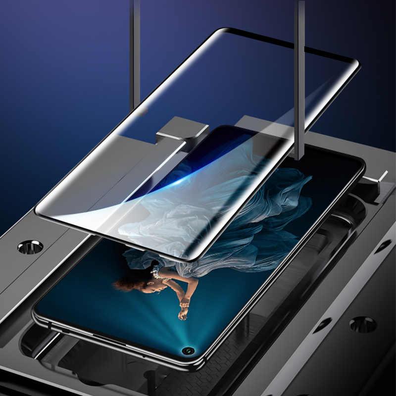 Lensa Kaca Pelindung untuk Kehormatan 8C 7C Pelindung Layar untuk Kehormatan 8X MAX Kamera Tempered Kaca untuk Huawei Kehormatan 9X pro 9D Telepon