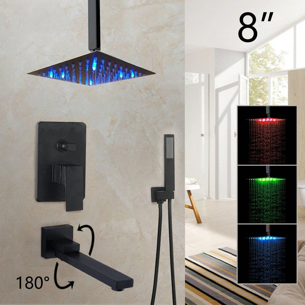 LED 8 Inch Shower C2