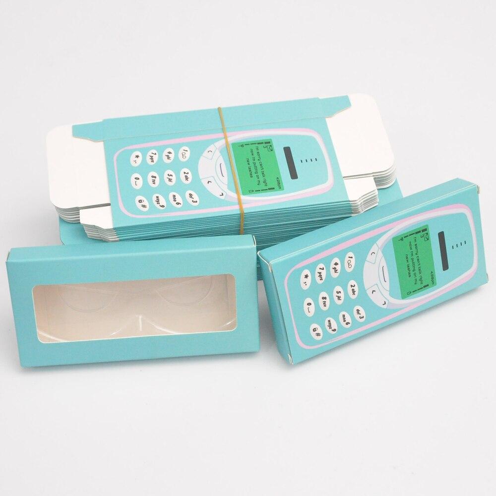 embalagem logotipo personalizado falso cils 25mm vison cílios caso