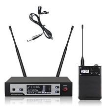 Leicozic – Microphone à revers professionnel sans fil, 645 664Mhz, skm9100D