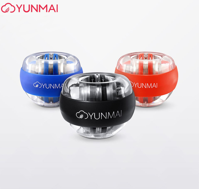 Youpin YunMai LED Ball Powerball Carpalการฝึกอบรมอุปกรณ์Power Gyro Essential Spinner Antistressของเล่นTrainer
