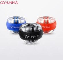 Тренировочный аппарат xiaomi Youpin YunMai Powerball Carpal, мощный тренажер запястья, светодиодный Гироскопический шар, необходимый Спиннер, игрушка для снятия стресса