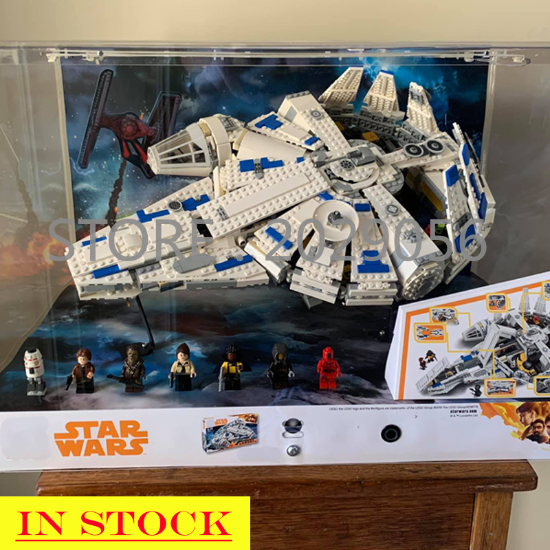 In stock 05142 Star Series Wars Force Awakens Millennium 75212 Building Blocks 1482pcs Space ship Toys Compatible image