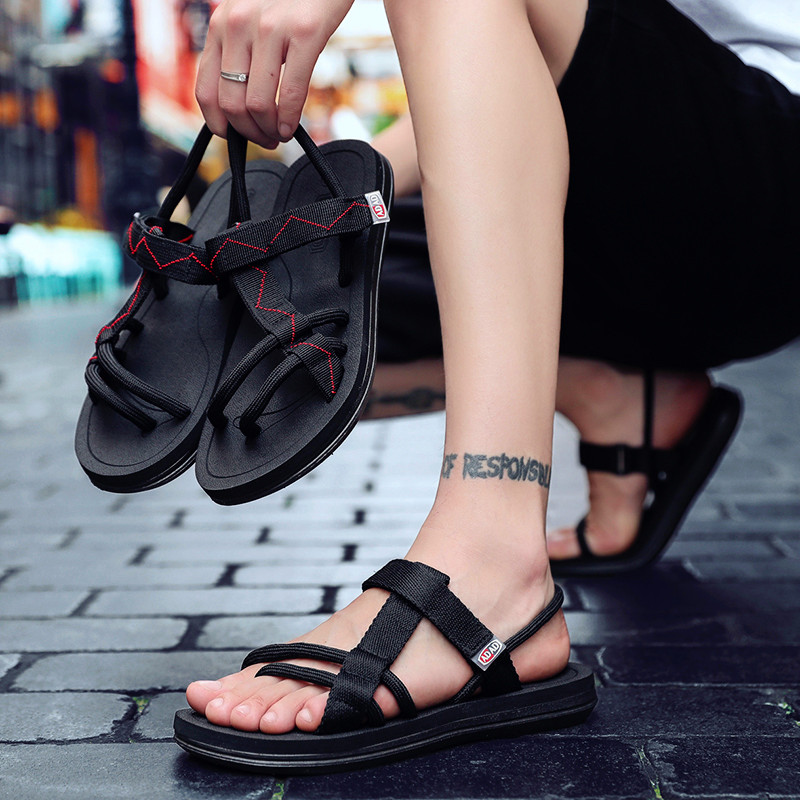 New Stylish Sandal Shoe Men Fashion Classic Mens Platform Sandals Breathable Luxury Brand Casual Slipper Male Slides