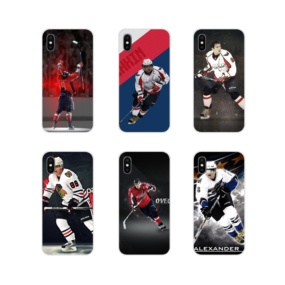 For Apple iPhone X XR XS MAX 4 4S 5 5S 5C SE 6 6S 7 8 Plus ipod touch 5 6 Silicone Case Cover Alexander Ovechkin Nhl Star Hockey(China)