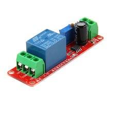 12 В осциллятор ne555 с задержкой регулируемый релейный модуль