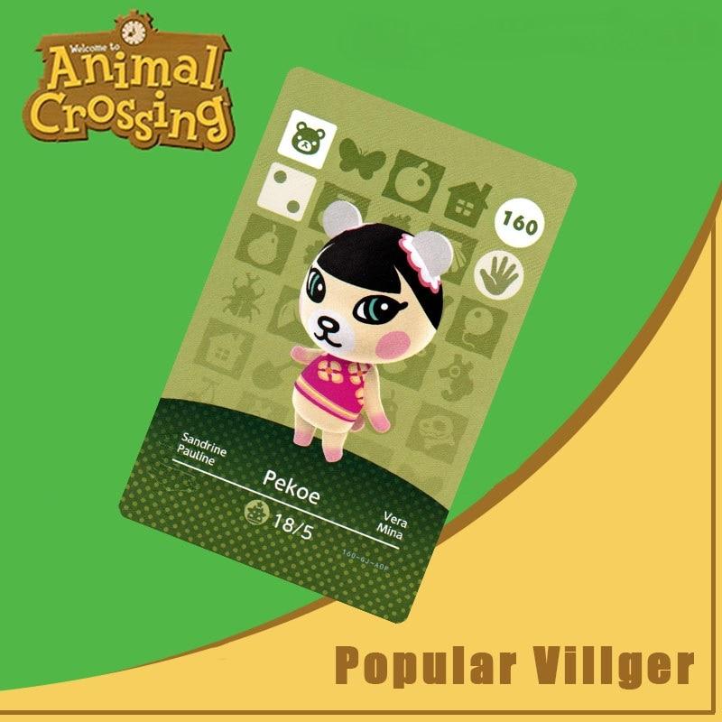 160 Animal Crossing Amiibo Card Pekoe Amiibo Card Animal Crossing Series 2 Pekoe Nfc Card Work For Ns Games Dropshipping