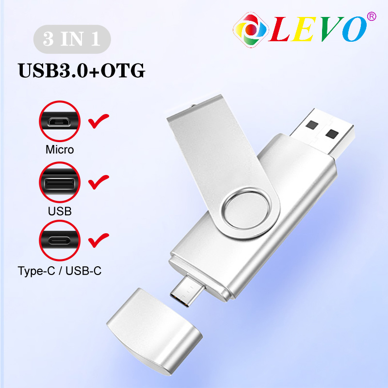 High Quality Type C 3.0 USB Flash Drive 32gb 64gb Dual Use Pen Drive 16gb Pendrive 4g 8g 128G With Free Shipping For Phone/PC